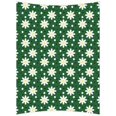 Daisy Dots Green Back Support Cushion by snowwhitegirl