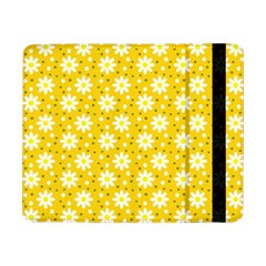 Daisy Dots Yellow Samsung Galaxy Tab Pro 8 4  Flip Case by snowwhitegirl
