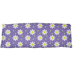 Daisy Dots Violet Body Pillow Case (dakimakura) by snowwhitegirl
