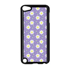 Daisy Dots Violet Apple Ipod Touch 5 Case (black) by snowwhitegirl
