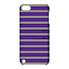 Color Line 1 Apple Ipod Touch 5 Hardshell Case With Stand by jumpercat