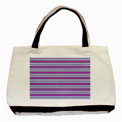 Color Line 4 Basic Tote Bag by jumpercat