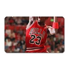 Michael Jordan Magnet (rectangular) by LABAS