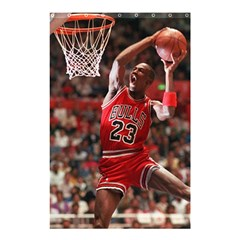 Michael Jordan Shower Curtain 48  X 72  (small)  by LABAS