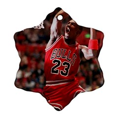 Michael Jordan Ornament (snowflake) by LABAS