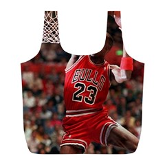 Michael Jordan Full Print Recycle Bags (l)  by LABAS