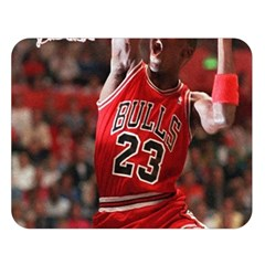 Michael Jordan Double Sided Flano Blanket (large)  by LABAS