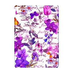 Ultra Violet,shabby Chic,flowers,floral,vintage,typography,beautiful Feminine,girly,pink,purple Apple Ipad Pro 10 5   Hardshell Case by 8fugoso