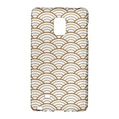 Gold,white,art Deco,vintage,shell Pattern,asian Pattern,elegant,chic,beautiful Galaxy Note Edge by 8fugoso