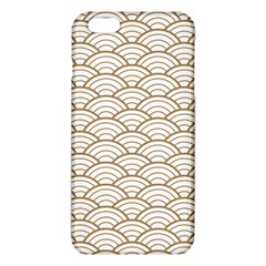 Gold,white,art Deco,vintage,shell Pattern,asian Pattern,elegant,chic,beautiful Iphone 6 Plus/6s Plus Tpu Case by 8fugoso