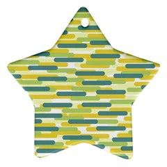 Fast Capsules 2 Star Ornament (two Sides) by jumpercat