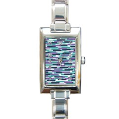 Fast Capsules 3 Rectangle Italian Charm Watch by jumpercat