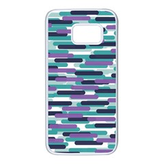 Fast Capsules 3 Samsung Galaxy S7 White Seamless Case by jumpercat
