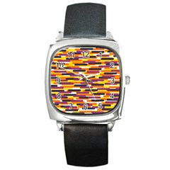 Fast Capsules 4 Square Metal Watch by jumpercat