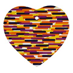 Fast Capsules 4 Heart Ornament (two Sides) by jumpercat