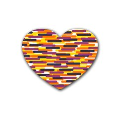 Fast Capsules 4 Rubber Coaster (heart)  by jumpercat