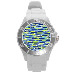 Fast Capsules 5 Round Plastic Sport Watch (l) by jumpercat