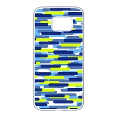 Fast Capsules 5 Samsung Galaxy S7 Edge White Seamless Case by jumpercat