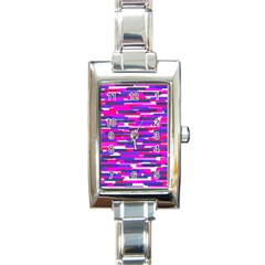 Fast Capsules 6 Rectangle Italian Charm Watch by jumpercat