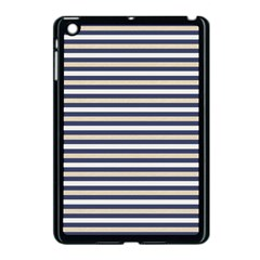 Royal Gold Classic Stripes Apple Ipad Mini Case (black) by jumpercat