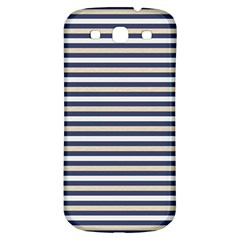 Royal Gold Classic Stripes Samsung Galaxy S3 S Iii Classic Hardshell Back Case by jumpercat