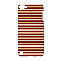 Gold And Wine Apple Ipod Touch 5 Hardshell Case by jumpercat
