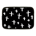 White Cross Netbook Case (Medium)  Front