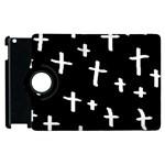 White Cross Apple iPad 2 Flip 360 Case Front
