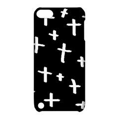 White Cross Apple Ipod Touch 5 Hardshell Case With Stand by snowwhitegirl