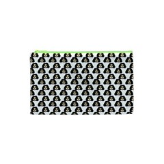 Angry Girl Pattern Cosmetic Bag (xs)