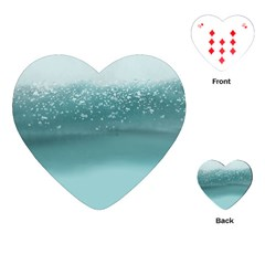 Waterworks Playing Cards (heart)  by digitaldivadesigns