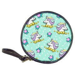 Magical Happy Unicorn And Stars Classic 20 Cd Wallets by allthingseveryday