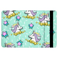 Magical Happy Unicorn And Stars Ipad Air 2 Flip by allthingseveryday