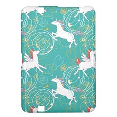Magical Flying Unicorn Pattern Kindle Fire Hd 8 9  by allthingseveryday