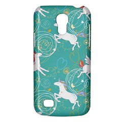 Magical Flying Unicorn Pattern Galaxy S4 Mini by allthingseveryday