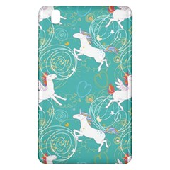 Magical Flying Unicorn Pattern Samsung Galaxy Tab Pro 8 4 Hardshell Case by allthingseveryday