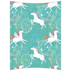 Magical Flying Unicorn Pattern Back Support Cushion by allthingseveryday