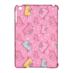 Unicorns Eating Ice Cream Pattern Apple Ipad Mini Hardshell Case (compatible With Smart Cover) by allthingseveryday