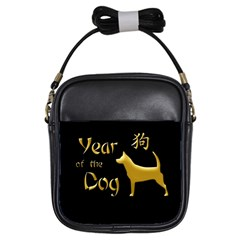 Year Of The Dog   Chinese New Year Girls Sling Bags by Valentinaart