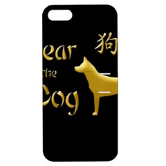Year Of The Dog   Chinese New Year Apple Iphone 5 Hardshell Case With Stand by Valentinaart
