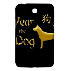 Year Of The Dog   Chinese New Year Samsung Galaxy Tab 3 (7 ) P3200 Hardshell Case  by Valentinaart