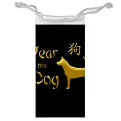Year Of The Dog   Chinese New Year Jewelry Bag by Valentinaart
