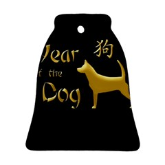 Year Of The Dog   Chinese New Year Bell Ornament (two Sides) by Valentinaart