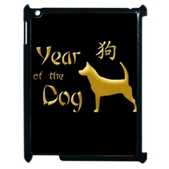 Year Of The Dog   Chinese New Year Apple Ipad 2 Case (black) by Valentinaart