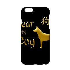 Year Of The Dog   Chinese New Year Apple Iphone 6/6s Hardshell Case by Valentinaart
