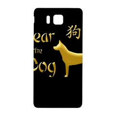 Year Of The Dog   Chinese New Year Samsung Galaxy Alpha Hardshell Back Case by Valentinaart