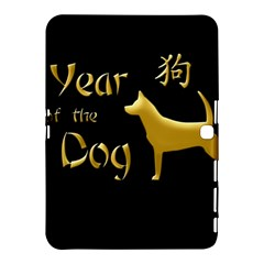 Year Of The Dog   Chinese New Year Samsung Galaxy Tab 4 (10 1 ) Hardshell Case  by Valentinaart