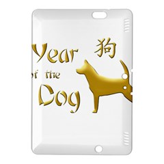 Year Of The Dog   Chinese New Year Kindle Fire Hdx 8 9  Hardshell Case by Valentinaart