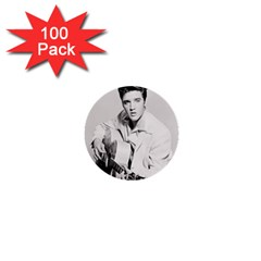 Elvis Presley 1  Mini Buttons (100 Pack)  by Valentinaart