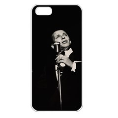 Frank Sinatra  Apple Iphone 5 Seamless Case (white) by Valentinaart